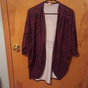 Cardigan w/dolman sleeves